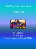 Board Game Templates For Any Subject