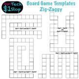 Board Game Templates * Zig-Zaggy * Fun Stuff