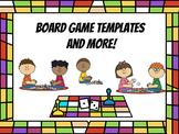 Board Game Templates and BONUS Grading Rubric!