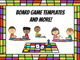 Board Game Templates and BONUS Grading Rubric! (Distance Learning)