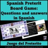 Board Game- The preterit (Spanish)