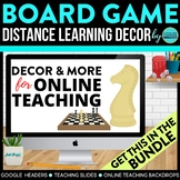 Board Game Theme | Online Teaching Backdrop | Google Class