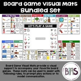 Board Game Visual Mats for Special Ed. and Comprehension Bundle