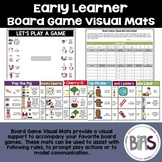 Board Game Visual Mats for Special Education and Language