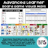 Board Game Visual Mats for Special Education and Language Comprehension (Set 2)