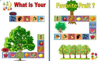 Board Game - What is Your Favorite Fruit?