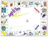 Board Game :  -ar Imperfect, Conditional, & Future Tenses Spanish