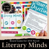 Board Game for ANY Novel: Literary Minds Upper Elementary