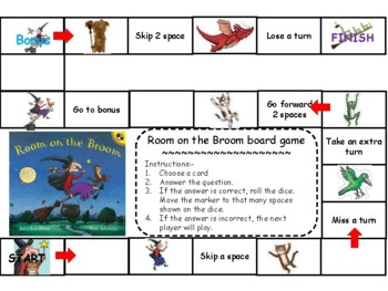 Board Game for Room on Broom