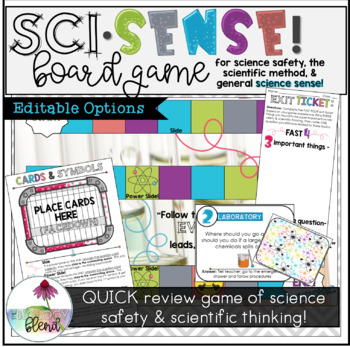 Board Game for Science Lab Safety & Scientific Thinking