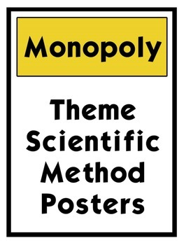 Board Game themed Scientific Method