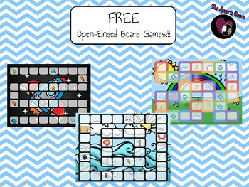 Board Games - FREEBIE