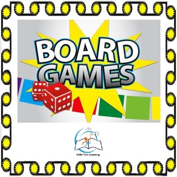 Board Game Templates - For All Subjects - Editable  Board Game Templates
