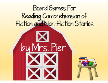 Board Games For Reading Comprehension of Fiction and Non-Fiction Text