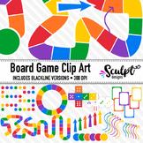 Board Game Clip Art ~ Bold Colors