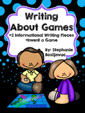 Board Games (Opinion and Explanatory Writing PBL)