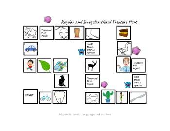 Board Game - Regular and Irregular plural words