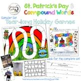 Board Games Sampler Set: Compound Words/ St. Patrick's Day