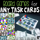Board Games for Any Task Cards