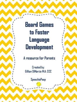 Board Games for Language Development
