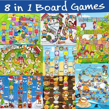 Board Games for Primary Grades