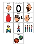 Classroom Management, Non-Verbal Reminders (Board Maker)
