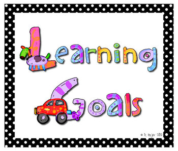 Board Signs: Learning Goals and Essential Questions plus More!