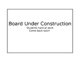 Board Under Construction Poster