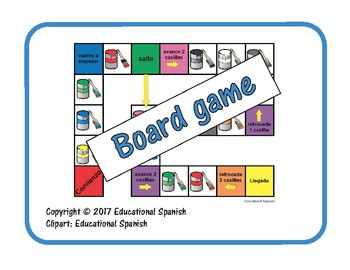 Board game colores / Colors