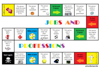 Board game_Jobs and professions