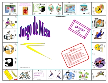 BoardGame for Gustar with Infinitives