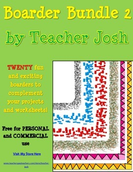 Boarder Bundle 2 {20 Boarders for Personal and Commercial Use}