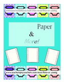 Boarders Papers & More!