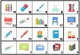 Boardgame: classroom vocabulary