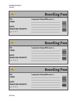 Boarding Pass: Enter Ticket Activity