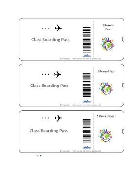Boarding pass teaching resources teachers pay teachers boarding pass boarding pass fandeluxe Gallery