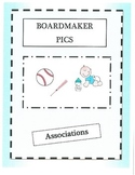 Boardmaker Pictures-associations