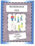 Boardmaker Pictures-opposites