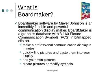 Boardmaker PowerPoint Review
