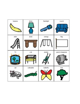 Boardmaker Vocabulary Associations