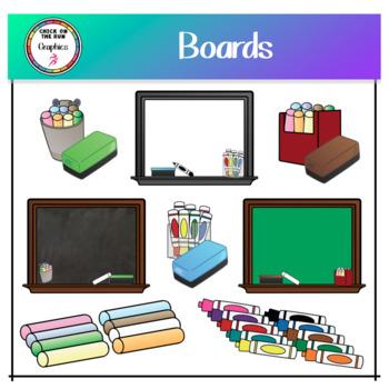 Boards (Digital Clip Art)