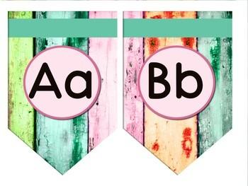 Boardwalk Bunting Single point, rectangle shape - BOARDWALK theme #happylaborday