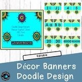 Bunting for classroom bulletin boards - Colorful