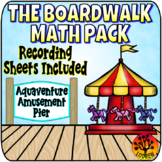 Boardwalk Centers Math Activities Carnival Centers Recording Sheets Worksheets