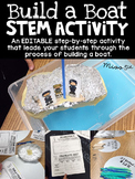 Boat Building STEM Activity