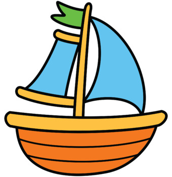 Boat Clipart - Summer Colab