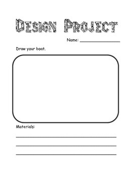 Boat Design Project Template