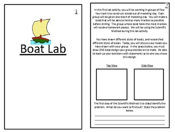 Boat Lab Booklet