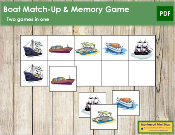 Boat Match-Up and Memory