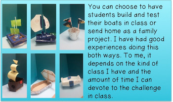 Boat Races STEM Challenge